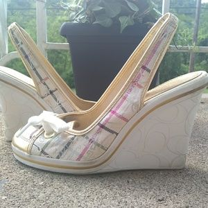 Coach Emilanna wedges